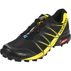 Salomon M's Speedcross Pro Shoes black/black/corona yellow